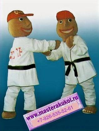 ростовая кукла каратист
