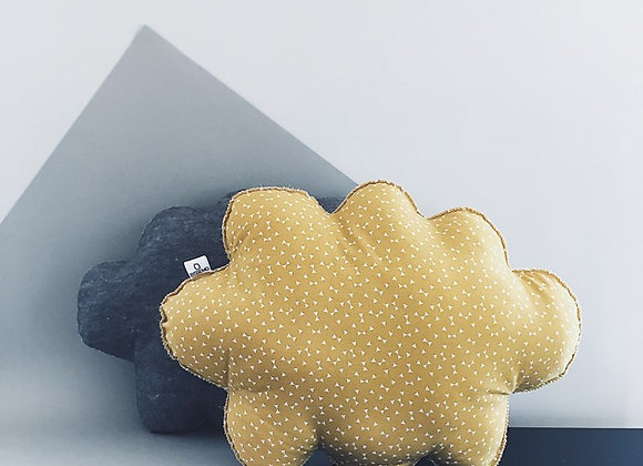 Coussin NUAGE — triangles
