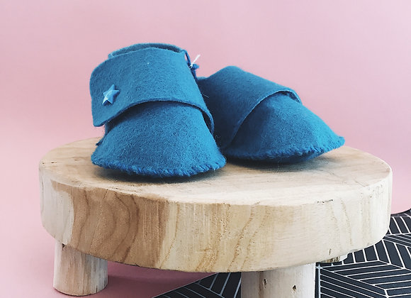 Chaussons - turquoise