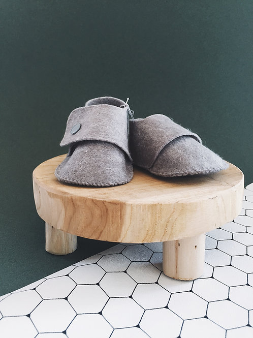 Chaussons - gris clair