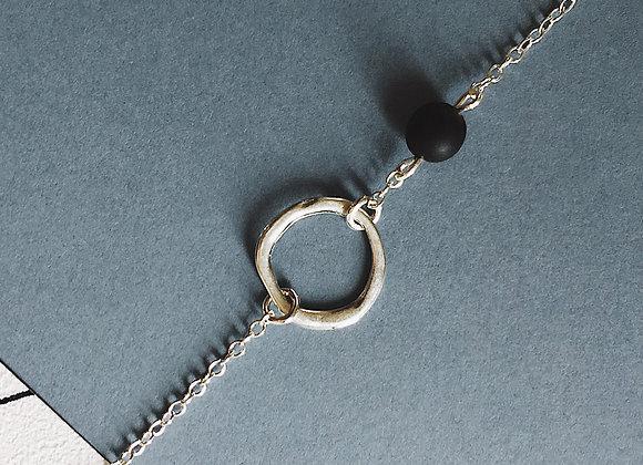 Bracelet argent— cannas