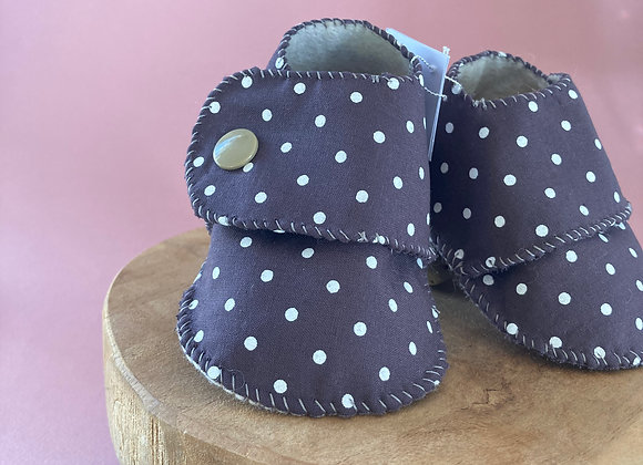 Chaussons pois-prune