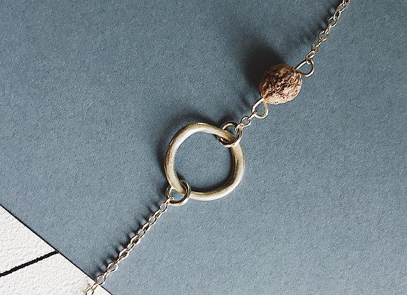 Bracelet NILAJA — graine de Jujube