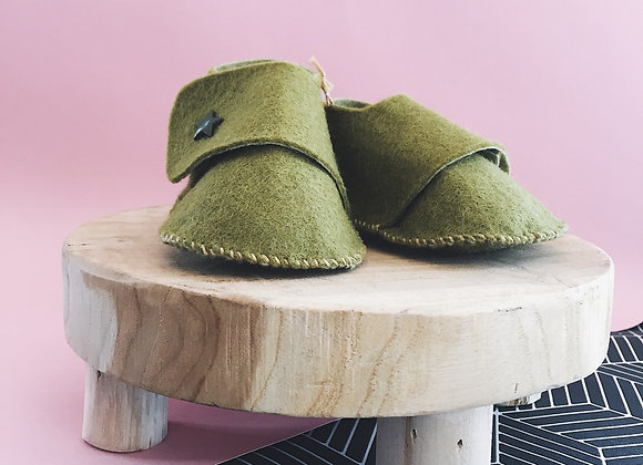 Chaussons - anis
