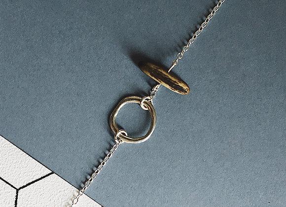 Bracelet NILAJA — graine de Flamboyant