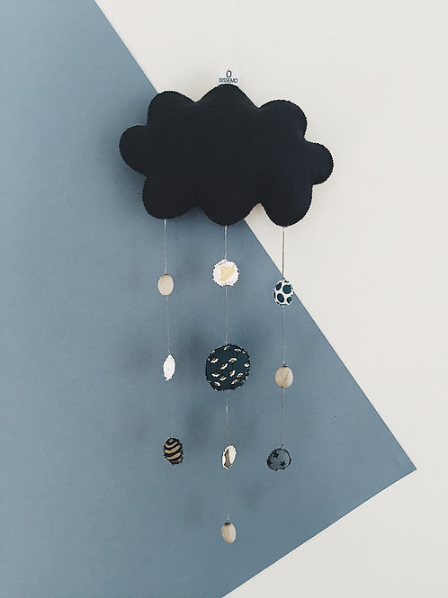 Mobile nuage — anthracite