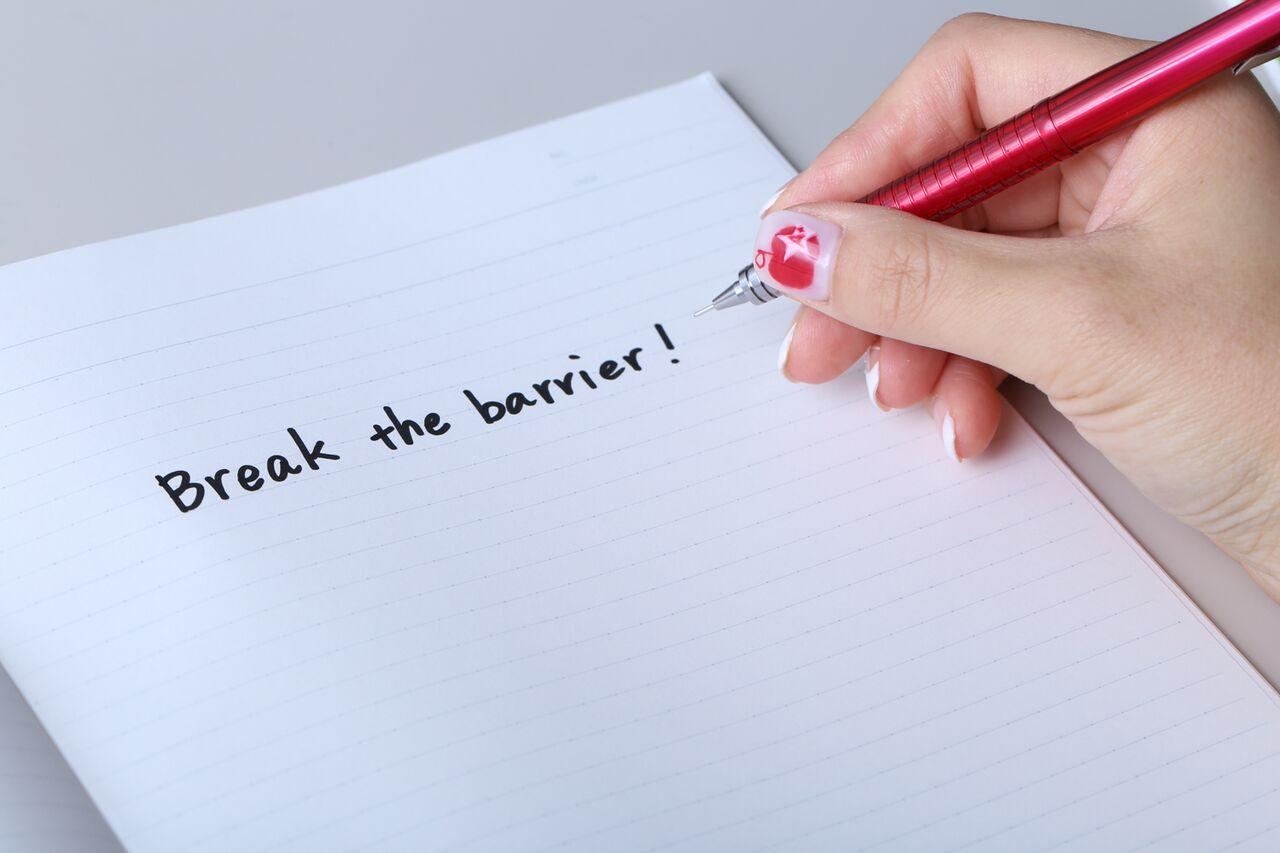 Break the barrier!