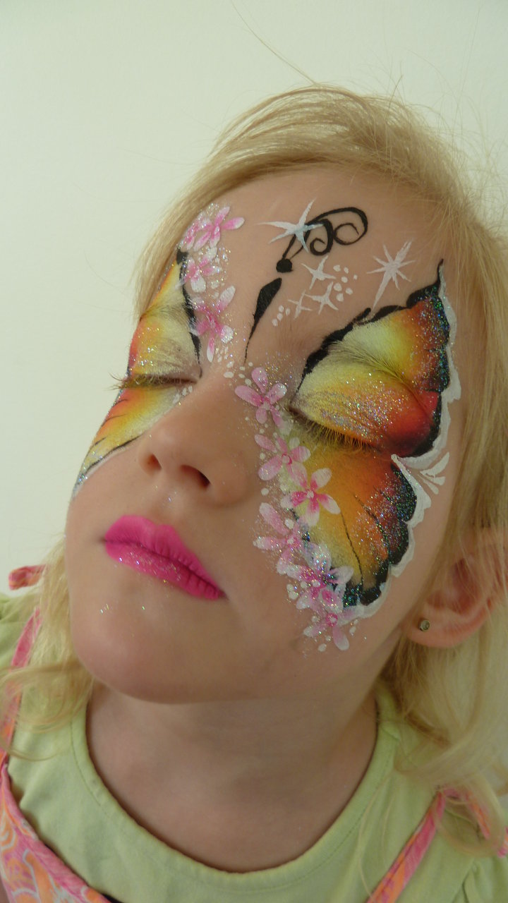 Butterfly+Face+Painting