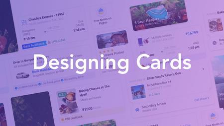 Designing Cards