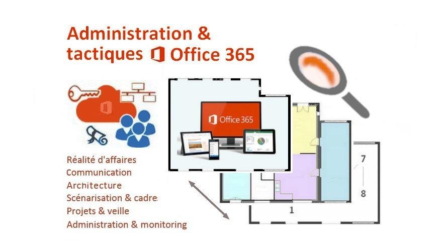 Administration et tactiques Office 365 - Jeudi 8 février