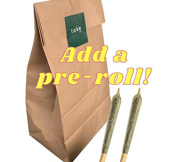 Top-Shelf Pre-Roll (+$10 Donation)