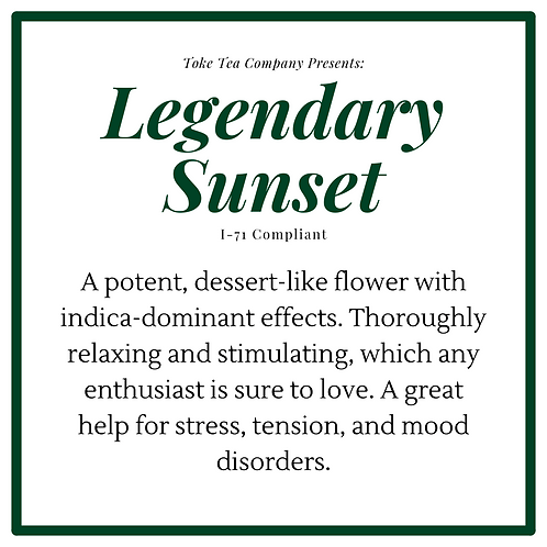 Legendary Sunset (Indica)