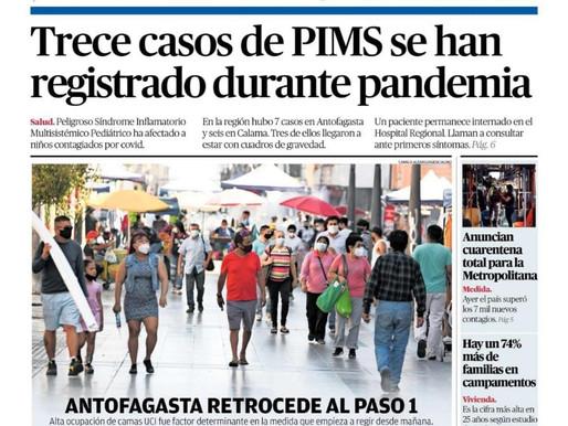 TITULARES DE LA PRENSA ESCRITA LOCAL PARA HOY VIERNES 26 DE MARZO