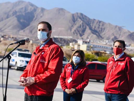 Vocero de Gobierno inicia visita a Antofagasta reforzando llamado a  adolescentes a vacunarse