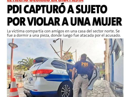 LAS PORTADAS DE LA PRENSA ESCRITA DE LA REGIÓN DE ANTOFAGASTA