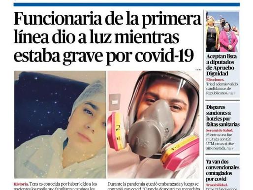 PORTADAS DE LA PRENSA ESCRITA LOCAL PARA HOY DOMINGO 26 DE SEPTIEMBRE