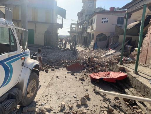 Asciende a más de 1,900 el número de personas muertas tras sismo en Haiti