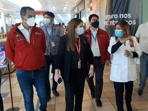 FISCALIZAN LOCALES ANTE LAS NUEVAS DISPOSICIONES DEL PLAN PASO 2 EN ANTOFAGASTA