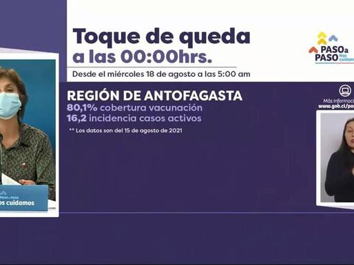 ESTE MIÉRCOLES CAMBIA EL TOQUE DE QUEDA A LAS 00:00 HORAS.