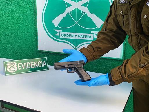 Carabineros de la SubComisaria Norte detiene a dos sujetos por robo con intimidación