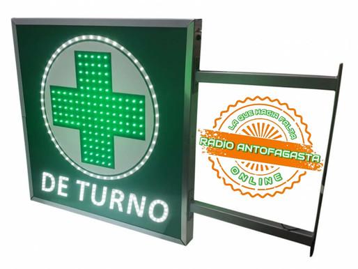 FARMACIAS DE TURNO PARA HOY DOMINGO 9 DE MAYO EN #CALAMA, #TOCOPILLA, #TALTAL Y #ANTOFAGASTA