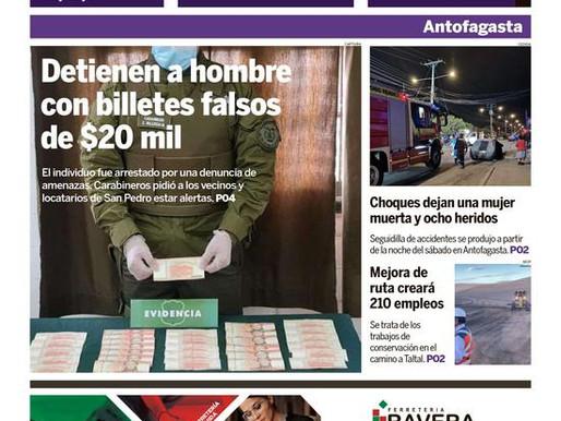 PORTADAS DE LA PRENSA ESCRITA REGIONAL PARA HOY LUNES 2 DE AGOSTO