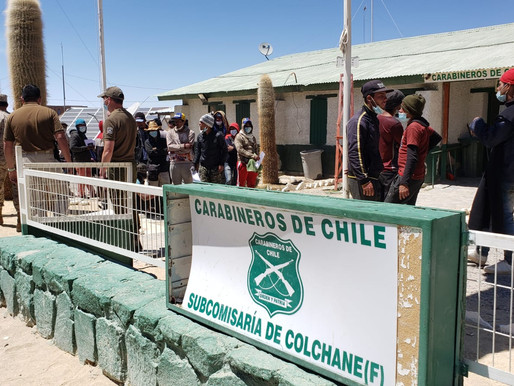 INSTALARÁN NUEVO CAMPAMENTO DE CARABINEROS EN COLCHANE