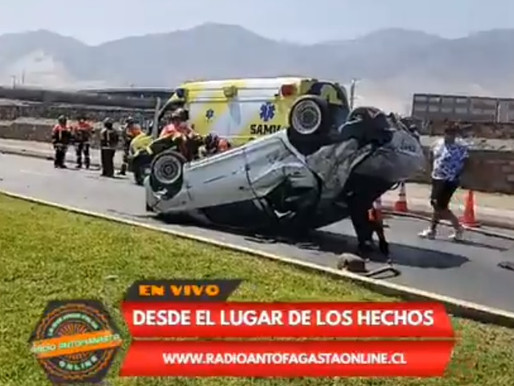 FATAL ACCIDENTE EN LA COSTANERA MARCA LA JORNADA DE HOY DOMINGO 28