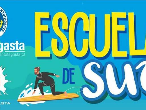 ESCUELA DE SURF GRATUITA EN ANTOFAGASTA
