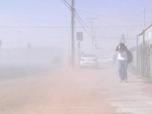 DMC PRONOSTICA TORMENTA DE ARENA Y VIENTOS DE HASTA 60 KM/H PARA COSTA EN LA REGIÓN DE ANTOFAGASTA