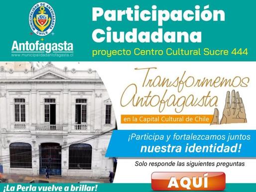 MUNICIPIO LLAMA A PARTICIPAR DE ENCUESTA CIUDADANA PARA CONSTRUIR PRIMER CENTRO CULTURAL MUNICIPAL