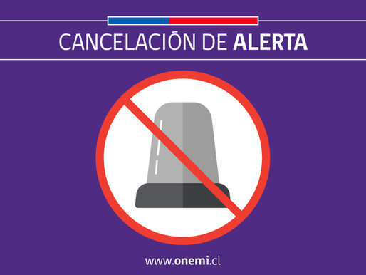 ALERTA DE TSUNAMI CANCELADA EN ANTOFAGASTA Y OTRAS LOCALIDADES DE CHILE