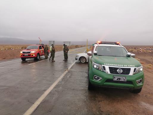 Alerta Temprana Preventiva para la provincia de El Loa y comuna de Antofagasta por precipitaciones