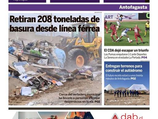 PORTADAS DE LA PRENSA ESCRITA REGIONAL PARA HOY MARTES 3 DE AGOSTO