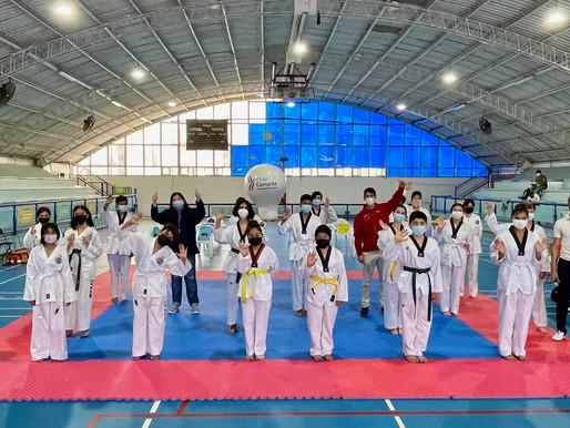 El taekwondo dio el vamos a los Juegos Deportivos Escolares 2021 en Antofagasta