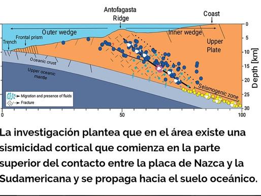 Investigación detecta falla geológica al sur de Mejillones activada por terremoto de 1995