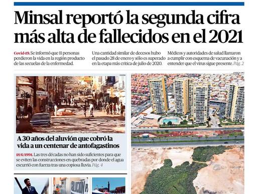 TITULARES DE LA PRENSA ESCRITA LOCAL PARA HOY VIERNES 18 DE JUNIO