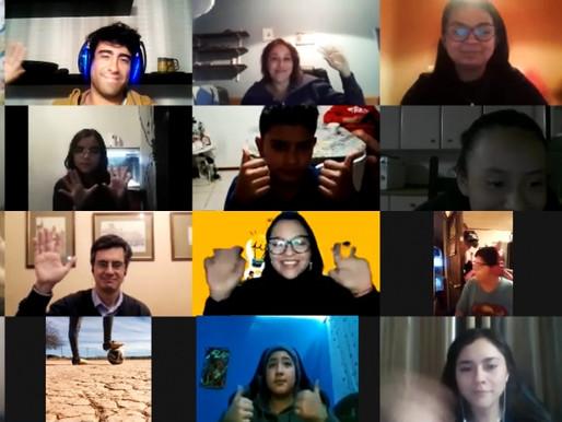 Estudiantes de enseñanza básica y media participaron en talleres online de ciencias e innovación