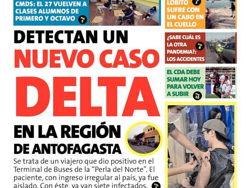 PORTADAS DE LA PRENSA ESCRITA LOCAL PARA HOY MARTES 7 DE SEPTIEMBRE