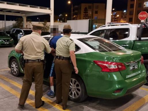 ES DETENIDO PRESUNTO AUTOR DE INCENDIO EN EL SECTOR NORTE DE ANTOFAGASTA
