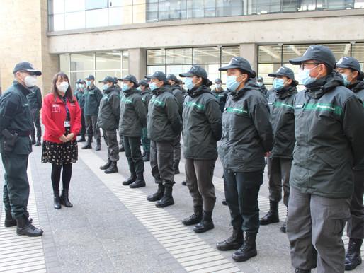 61 gendarmes llegan a la Región de Antofagasta para fortalecer trabajo penitenciario