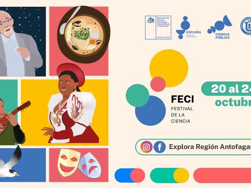 FECI 2021, invita a recorrer volcanes, edificios patrimoniales y rincones de Antofagasta