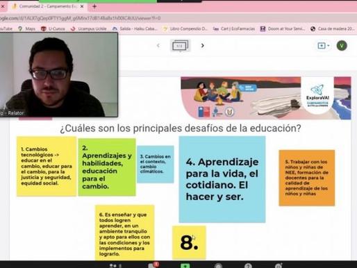 Campamento Explora VA!: Un espacio de aprendizaje colaborativo