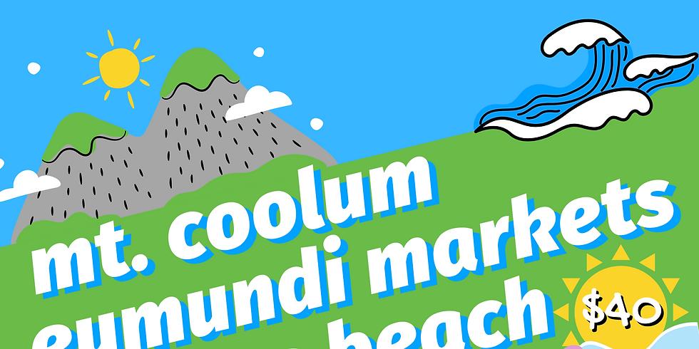 Mt Coolum - Eumundi - Noosa Tour