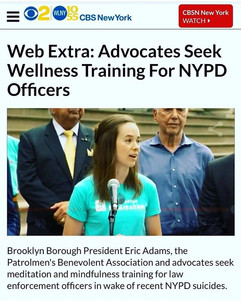 Wellness for our police officers #medition