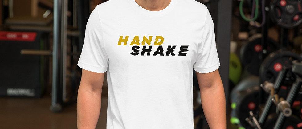 Glitched Handshake's Short-Sleeve Unisex T-Shirt