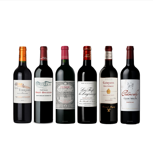 Bordeaux 2nd Wine Special x 6 - Great Value for Money
