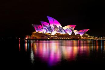 繽紛悉尼燈光音樂節 Vivid Sydney 揭開序幕
