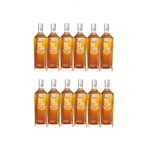 Kavalan Classic Single Malt Whisky x 12