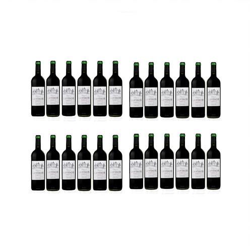Chateau Lavison AOC Bordeaux Red Wine 2018 x 24